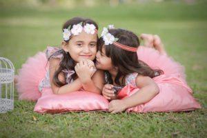 4歳以降の姉妹ドレス