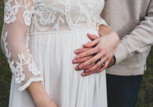 妊婦の花嫁