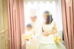 子連れ結婚式でデザートビュッフェ